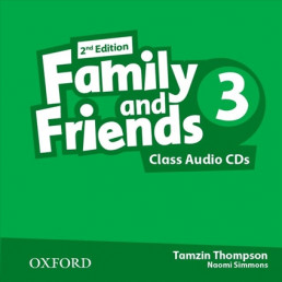 Аудіо диск Family and Friends 2nd Edition 3 Class Audio CDs