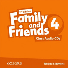 Аудіо диск Family and Friends 2nd Edition 4 Class Audio CDs