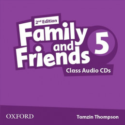 Аудіо диск Family and Friends 2nd Edition 5 Class Audio CDs