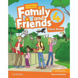 Підручник Family and Friends 2nd Edition 4 Class Book