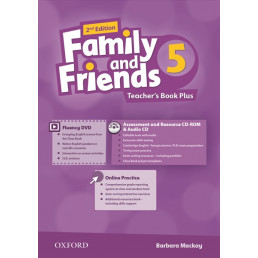 Книга вчителя Family and Friends 2nd Edition 5 Teacher's Book Plus
