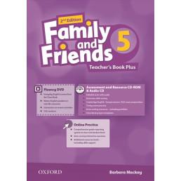 Книга вчителя Family and Friends 2nd Edition 5 Teacher's Book Plus