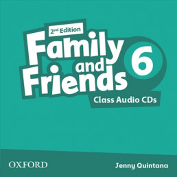 Аудіо диск Family and Friends 2nd Edition 6 Class Audio CDs