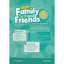 Книга вчителя Family and Friends 2nd Edition 6 Teacher's Book Plus