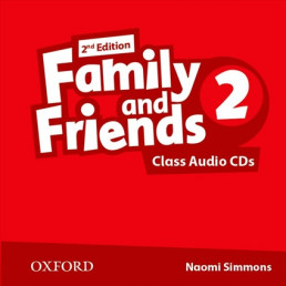 Аудіо диск Family and Friends 2nd Edition 2 Class Audio CDs