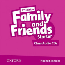 Аудіо диск Family and Friends 2nd Edition Starter Class Audio CDs