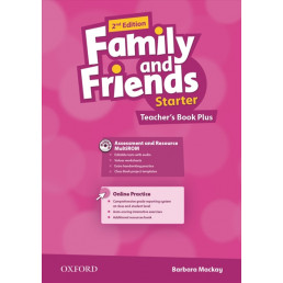 Книга вчителя Family and Friends 2nd Edition Starter Teacher's Book Plus
