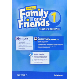 Книга вчителя Family and Friends 2nd Edition 1 Teacher's Book Plus