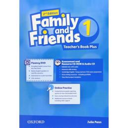 Книга вчителя Family and Friends 2nd Edition 1 Teacher's Book Plus