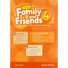 Книга вчителя Family and Friends 2nd Edition 4 Teacher's Book Plus