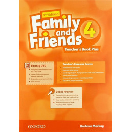 Книга вчителя Family and Friends 2nd Edition 4 Teacher's Book Plus