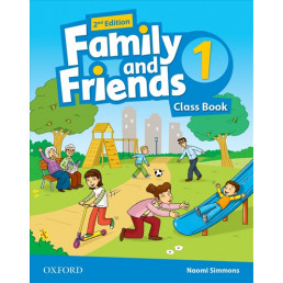 Підручник Family and Friends 2nd Edition 1 Class Book