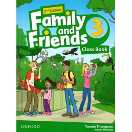 Підручник Family and Friends 2nd Edition 3 Class Book
