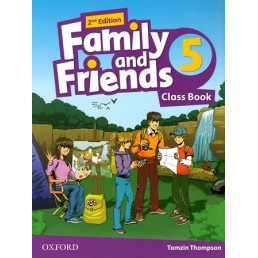 Підручник Family and Friends 2nd Edition 5 Class Book