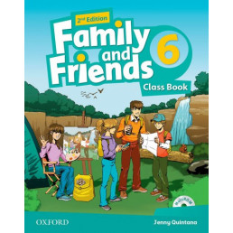 Підручник Family and Friends 2nd Edition 6 Class Book