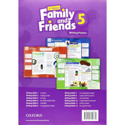 Плакати Family and Friends 2nd Edition 5 Writing Posters
