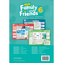 Плакати Family and Friends 2nd Edition 6 Writing Posters
