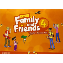 Ресурсні матеріали Family and Friends 2nd Edition 4 Teacher's Resource Pack
