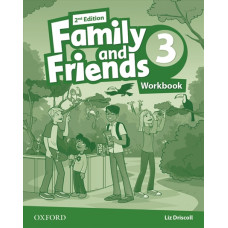 Зошит Family and Friends 2nd Edition 3 Workbook