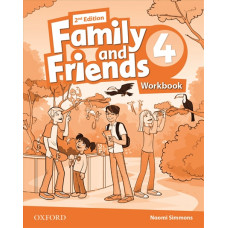 Зошит Family and Friends 2nd Edition 4 Workbook