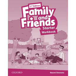 Зошит Family and Friends 2nd Edition Starter Workbook