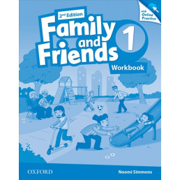 Зошит Family and Friends 2nd Edition 1 Workbook with Online Practice