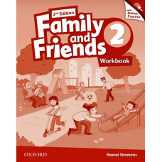 Зошит Family and Friends 2nd Edition 2 Workbook with Online Practice