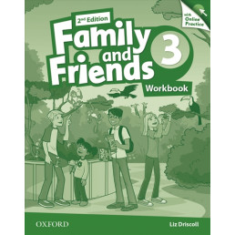 Зошит Family and Friends 2nd Edition 3 Workbook with Online Practice