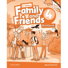 Зошит Family and Friends 2nd Edition 4 Workbook with Online Practice