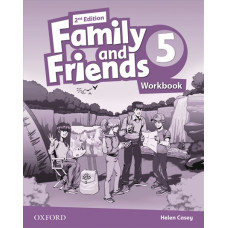 Зошит Family and Friends 2nd Edition 5 Workbook