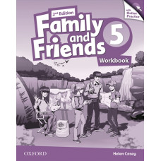 Зошит Family and Friends 2nd Edition 5 Workbook with Online Practice