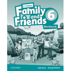Зошит Family and Friends 2nd Edition 6 Workbook