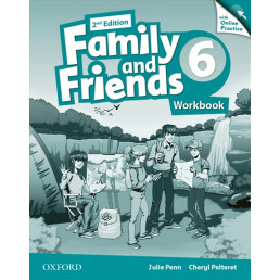 Зошит Family and Friends 2nd Edition 6 Workbook with Online Practice