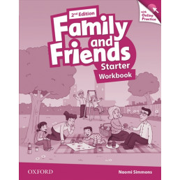 Зошит Family and Friends 2nd Edition Starter Workbook with Online Practice