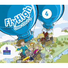Аудіо диск Fly High 4 Ukraine Audio CD