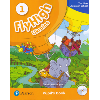 Підручник Fly High 1 Ukraine Pupil's Book + Audio CD
