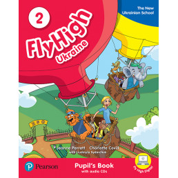 Підручник Fly High 2 Ukraine Pupil's Book + Audio CD
