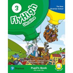 Підручник Fly High 3 Ukraine Pupil's Book