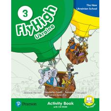 Зошит Fly High 3 Ukraine Activity Book