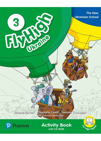 Fly High 3 Ukraine Activity Book