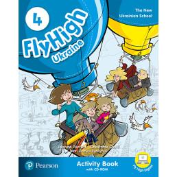 Зошит Fly High 4 Ukraine Activity Book