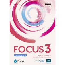 Книга вчителя Focus 2nd Edition 3 Teacher's Book