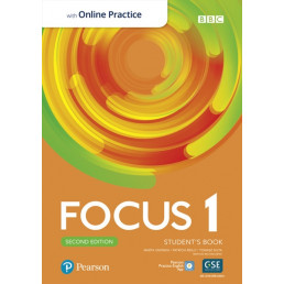 Підручник Focus 2nd Edition 1 Student's Book with MyEnglishLab