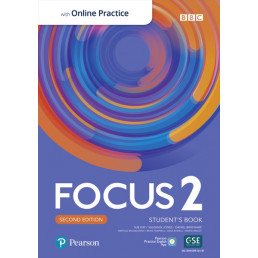 Підручник Focus 2nd Edition 2 Student's Book with MyEnglishLab