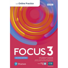 Підручник Focus 2nd Edition 3 Student's Book with MyEnglishLab