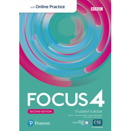 Підручник Focus 2nd Edition 4 Student's Book with MyEnglishLab