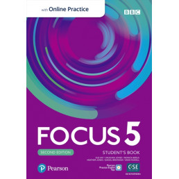 Підручник Focus 2nd Edition 5 Student's Book with MyEnglishLab