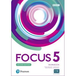 Зошит Focus 2nd Edition 5 Workbook