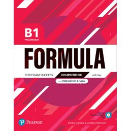 Підручник Formula B1 Preliminary Coursebook
