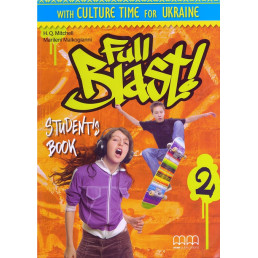 Підручник Full Blast 2 Student's Book with Culture Time for Ukraine
